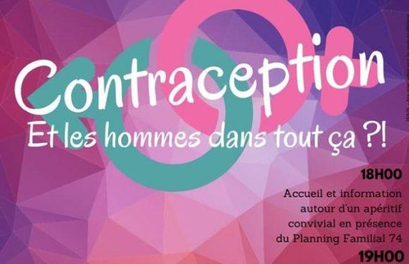 Soirée débat contraception 🗓 🗺