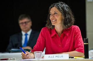 Chambéry : Aurélie Le Meur, la nouvelle donne