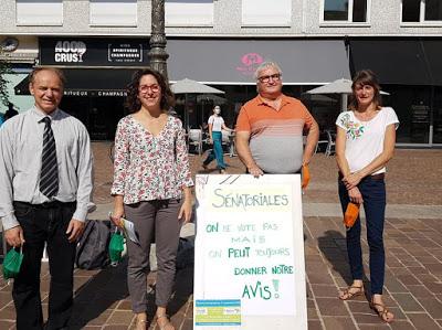 Sénatoriales : les Verts et Savoie citoyenne dans le même bateau…