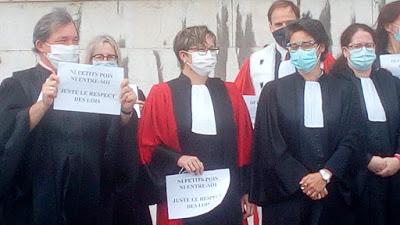 Chambéry :  entre les magistrats et leur ministre, «la ligne rouge a été dépassée»