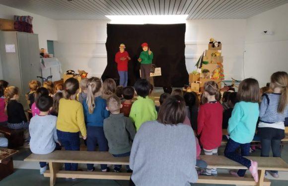 Capharnaüm à l'école de Gruffy en Haute-Savoie