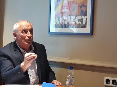 André Gimenez : «J'avais envisagé laisser ma place…»