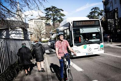 Chambéry : le PCF engagé sur le front de la mobilité