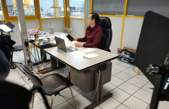 PDG et Compagnie en tournage à Bonneville en Haute-Savoie