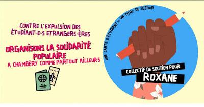 Chambéry : un comité de soutien pour Roxane, étudiante et mère, menacée d'expulsion du territoire