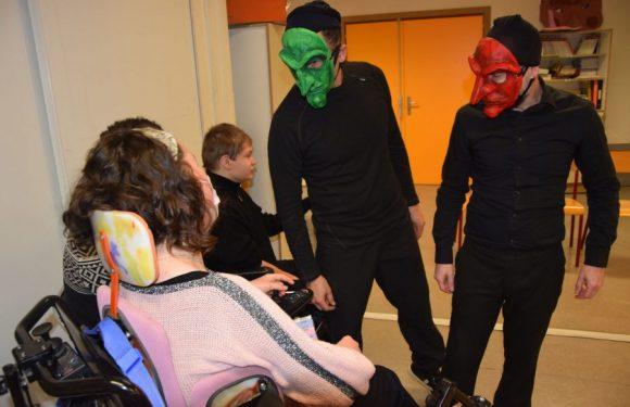«Démasquez-nous !» projet théâtre masqué dans le cadre du programme Culture et Santé