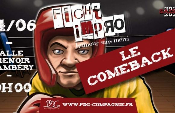 Fight impro – Le comeback – Chambéry 🗓
