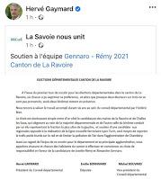 Départementales sur le canton de La Ravoire : attaquer les adversaires mobilisera-t-il les abstentionnistes ?
